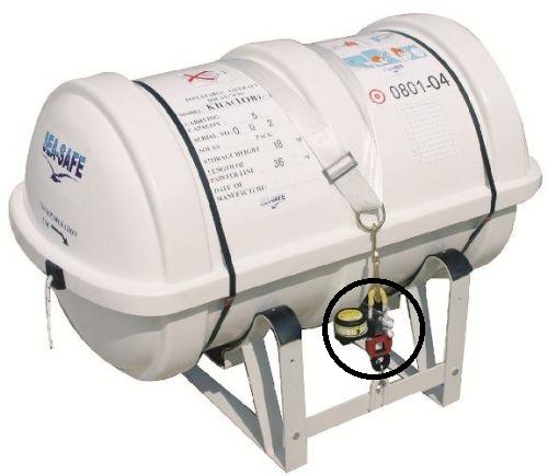 Hydrostatic Release Unit Hammar H20 Raft 2 Years Expiry